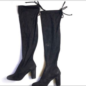 Francescas Suede over the knee boots size 9